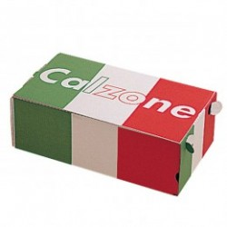 caja pizza calzone 27x15x7cms blanco carton (1 pack 100 unid.)