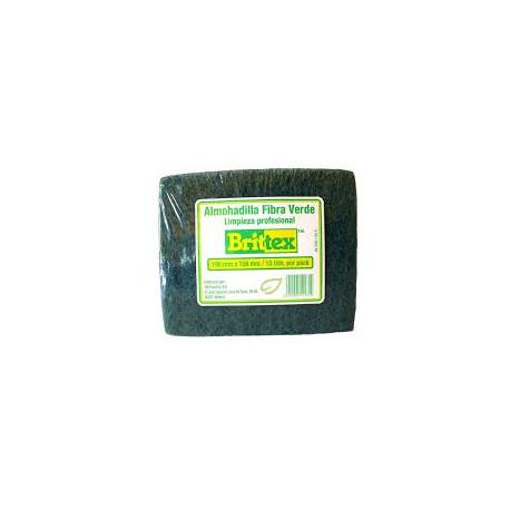 extropajo fibra verde 89x137 britex 3M (1 unid.)