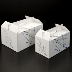 maleta para comida para llevar-picnic 28x20x15 blanco (1 unid.)