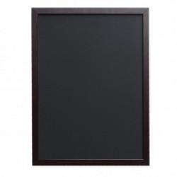 cartelera-pizarra 45x60cms negro madera (1 unid.)