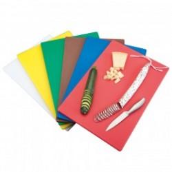 tabla para cortar en colores 40x30x1cms PEHD (1 unid.)