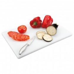 tabla para cortar polietileno 45x30x2cms blanco PEHD (1 unid.)