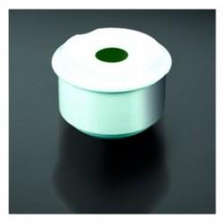 cenicero agua 8,7x6cms blanco porcelana (1 unid.)
