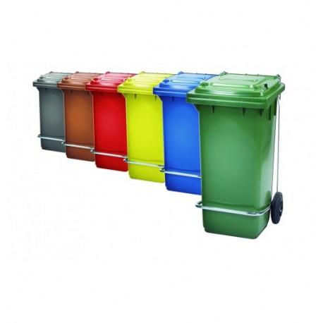 contenedor 120lts con pedal y aro sujeta bolsa (1 unid.)