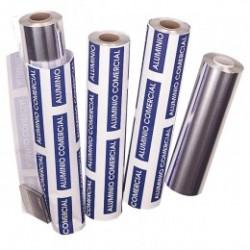 rollo aluminio comercial 13 micras 30x300mts (1 rollo)