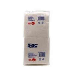 servilleta blanca 2/c 20x20 paq.100 (1 paq.)