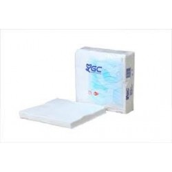 servilleta blanca 2/c 40x40 paq.100 (1 paq.)
