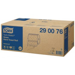 toalla rollo verde tork 2/c 150mts (1 caja 6 rollos)