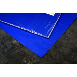 mantel azul 1/c 100x100 48grs 300 mant. (1 caja)