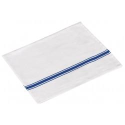 paño sarga vajilla blanco (1 pack 12 unid.)