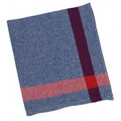 paño sarga vajilla azul (1 pack 12 unid.)