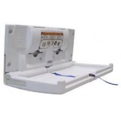 mesa para cambio de pañales horizontal 87x10,2x45,7cms