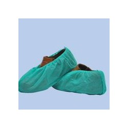 cubre zapatos cpe, G160 (0,040mm) verde (1 pack 100 unid.)