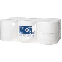 higienico industrial tork mini jumbo suave tork (1 pack 12 rollos)