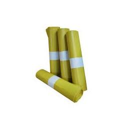 bolsa basura industrial amarilla 85x105 G150 (1 rollo 10 bolsas)