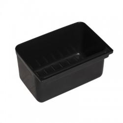 cubo pequeño para carro utilitario basic negro (1 unid.)