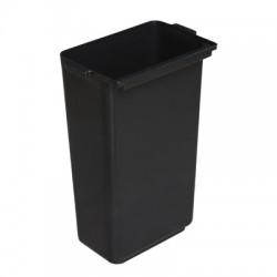 cubo grande para carro utilitario basic negro (1 unid.)