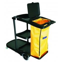 carro de limpieza arc con bolsa amarilla (1 unid.)