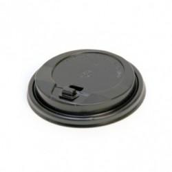 tapa alta para vasos de 240ml negro ps (1 pack 100 unid.9
