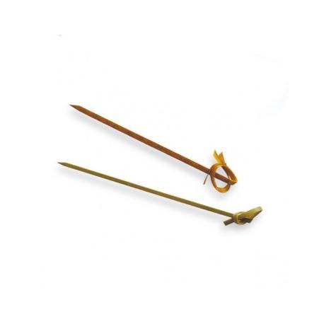 pick lazo 9cms natural bambu (1 pack 100 unid.)