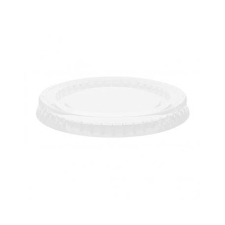 tapa tarrina transparente pet 165ml (1 pack 125 unid.)