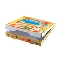 caja pizza 26x26x3,5 (1 pack 100 unid.)