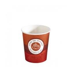 vaso carton bebida caliente 4oz (120cc) (1 pack 50 unid.)
