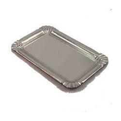 bandeja carton nº14 14x21 plata (1 pack 100 unid.)
