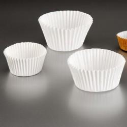 capsulas petit fours 32g/m2 5,3x3,7 blanco litos (1 pack 1000 unid.)