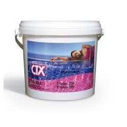 cloro tabletas multifuncion triplex envase 25 kgs.