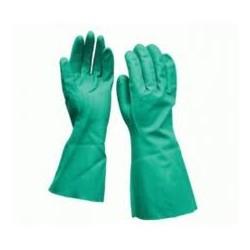 guante nitrilo industrial verde t/g (1 par)