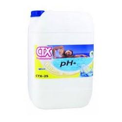 incrementador Ph+ liquido envase 25 lts