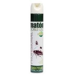 aerosol insecticida maton doble uso (1 envase 750ml)