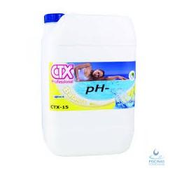 minorador de Ph- liquido envase 20 lts