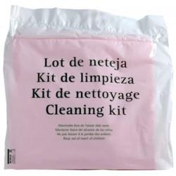 set cocina nº3 standard (1 bayeta, 1 estropajo, 1 lavavajillas manual) (1 unid.)